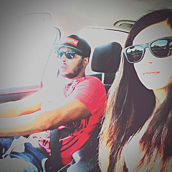 Couple Partner Soulmate Rolling Riding Out And About Mission Outgoing Lovers Ray Bans People Together Quick Shot