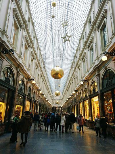 Architecture History Indoors  Travel Destinations Built Structure Bruxelles Brussel.les Bélgica Belgium Galeries Royales Saint-Hubert
