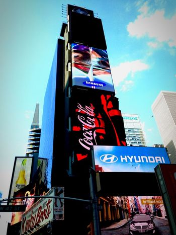 Time Square, New York Cocacola Hyndai Corona Commercial Publicimage PhonePhotography Phone Samsung