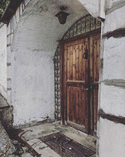Door to heaven Catherine_d_milosevich_photography Woodendoor Greece Sohos Closeddoorsphotography
