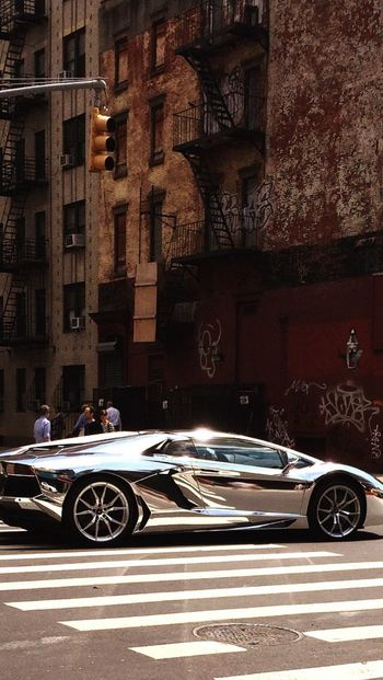 Catchy Color EyeCandy  Silvercar Batcar Streetphotography Racecar Luxurycar Streetsofnewyork WOW Astig Shiny Car