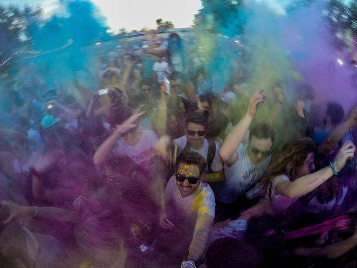 Colors Madness Color Colorful Crowd Edm Electronic Music Emotion Enjoyment Festival Gopro Group Of People Happiness Party People Picoftheday Rayban Real People Social Issues Wecolorfest Wecolorfestival