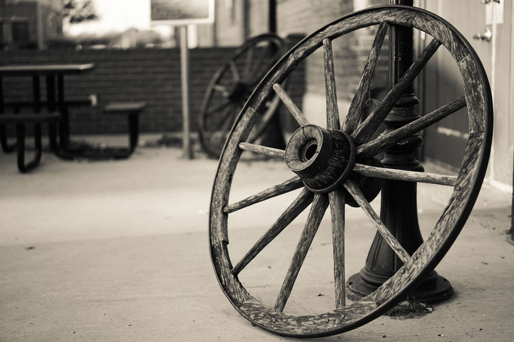 Wheels without a cart. Antique Horse Cart Wooden Wheel EyeEmNewHere