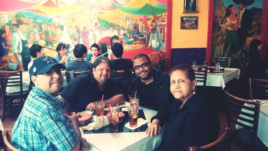 Me and my family in San Antonio. San Antonio LaTienna LatinoFamily ComidaMexicano