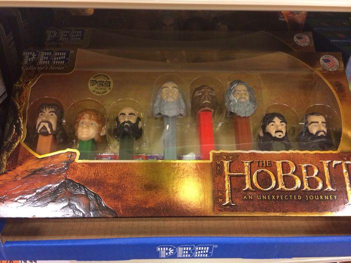 Hobbit Pez dispensers