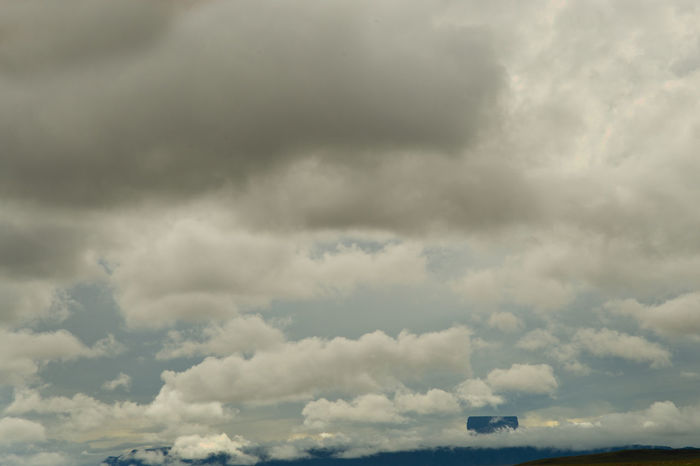 La Gran Sabana Beauty In Nature Cloud - Sky Cloudscape Day Dramatic Sky Environment Fluffy Low Angle View Meteorology Nature No People Ominous Outdoors Overcast Scenics - Nature Sky Storm Storm Cloud Tepuy Thunderstorm Tranquil Scene Tranquility
