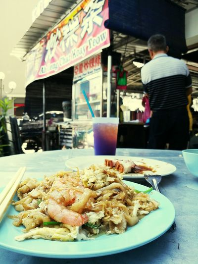 Outdoors Foodpics Foodaddicted Penang Malaysia Charkoewteow Famous Delicious City Penanglang Penangfood
