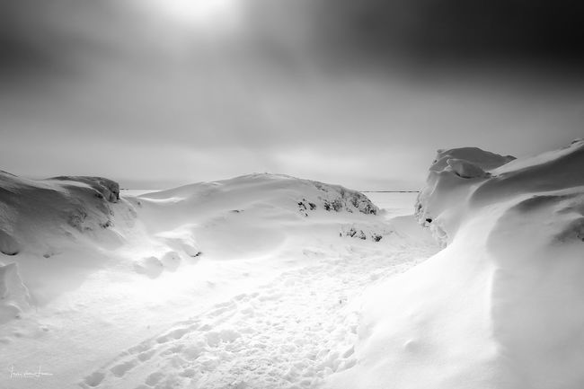 Winter dreams Footsteps In The Snow Beautiful Nature Frozenlake Bnwphotography Bnw_captures Bnw_collection Winterscapes Winter Wonderland Snowbanks Snow Winter Cold Temperature Nature Beauty In Nature Tranquility Low Angle View Scenics Outdoors Landscape No People