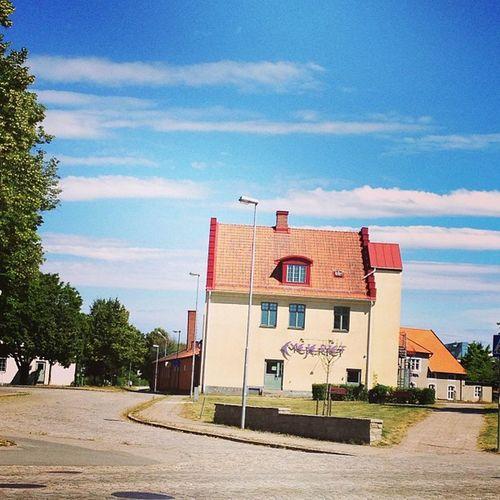 Pitstop I Nybro . Sweden SM åland