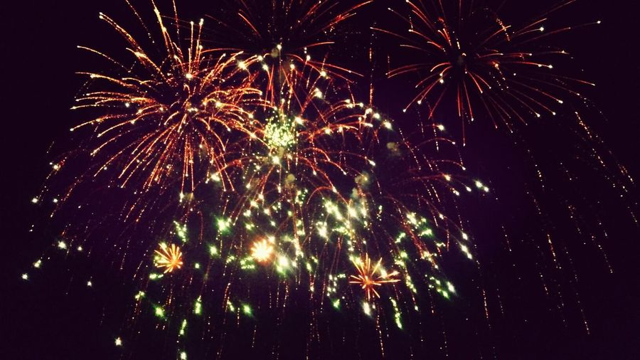 Salute Firework Holiday Hooray