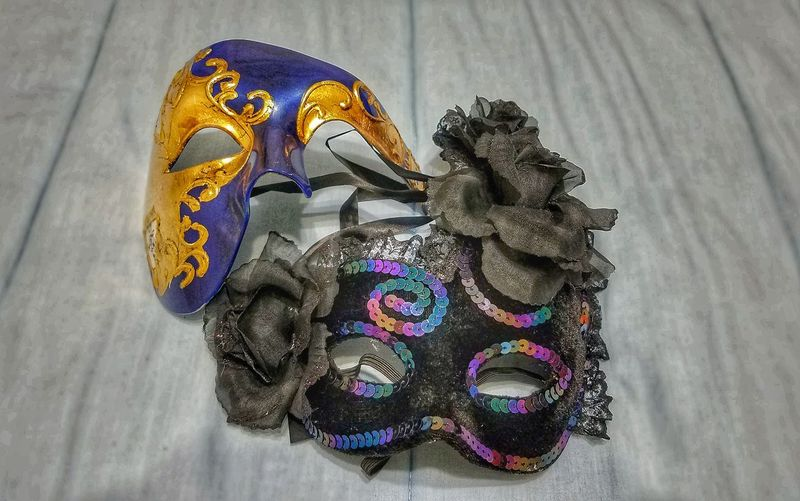 Getting ready for the masquerade ball. Masquerade Masquerademasks Masquerade Party Dance Venetian Mask Close-up Disguise No People