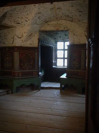 Erix XVIs cell on castle of Gripsholm Cell Gripsholm Indoors  Window Architecture Home Interior No People Built Structure History Domestic Room
