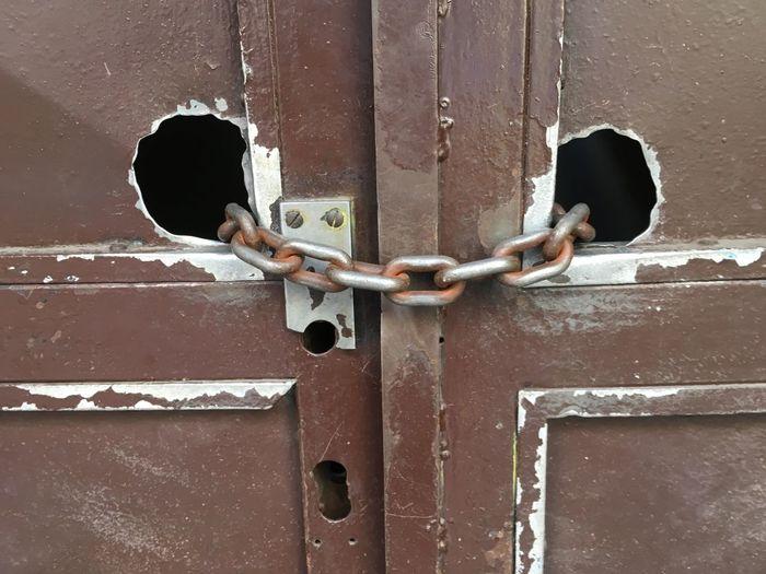 Locked Up Prague Door