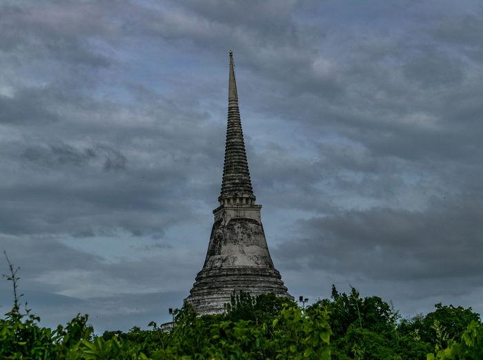 Chedi at Phra