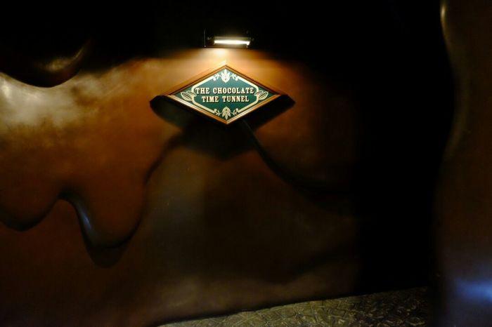 Chocolatefactory Chocolatetunnel Chocolate Shirokoibitoi Sapporo,Hokkaido,Japan Sapporo Hokkaido Wonderland Tunnel