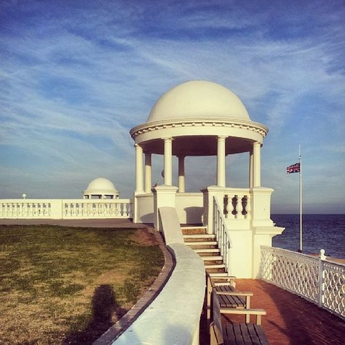 Bexhill Bexhillonsea Bexhillseafront Domes rotunda beautifulsky beautifulskys Sussex