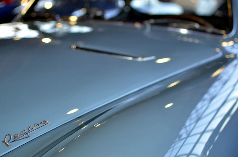 Close up of cars