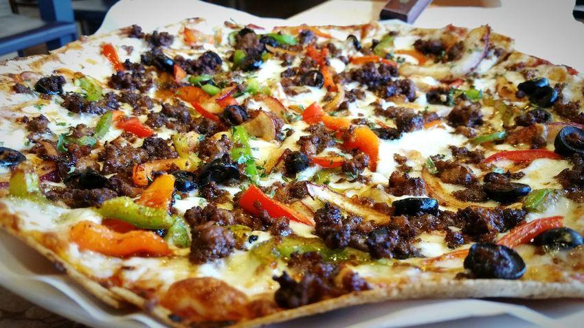 Korean Pizza Spicy Crunchy Crisp Thincrust Food Porn Awards