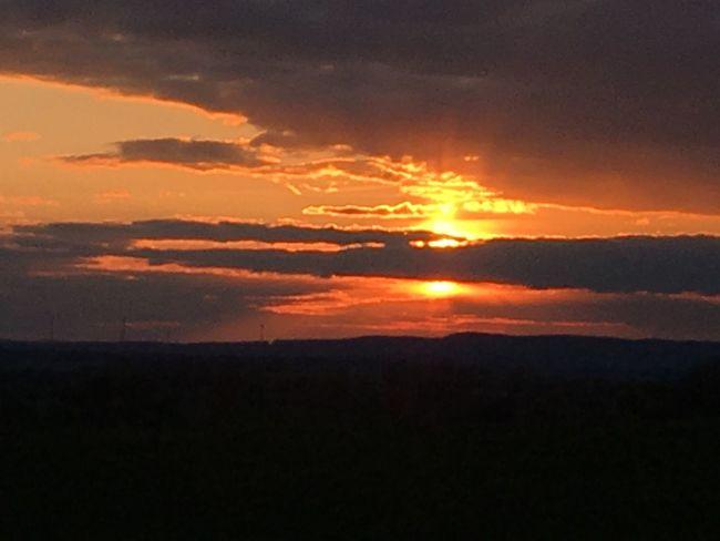 Dngrsdn Sundown Sunset Nature Tranquil Scene