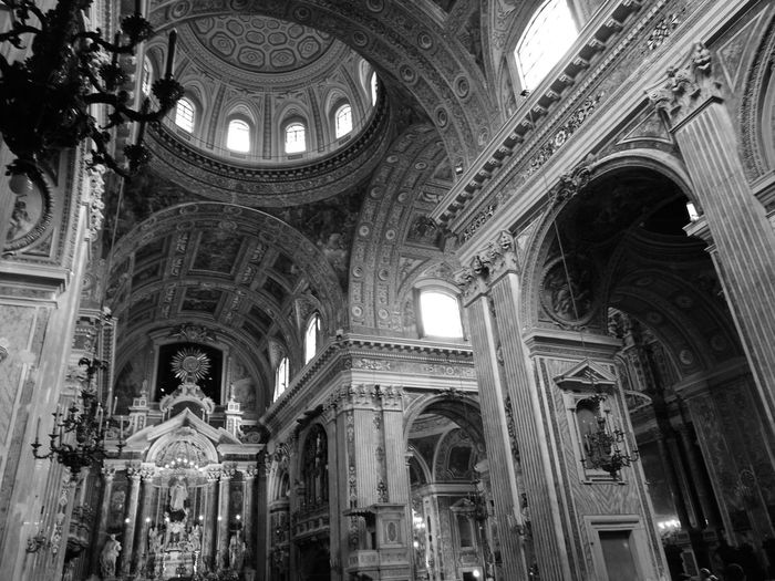 Architecture History Napoli Italy Napoli Naples Built Structure Travel Destinations Day