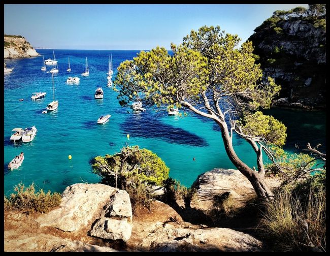 Mediterranean  Crystal Clear Waters Great Views Landscapes With WhiteWall