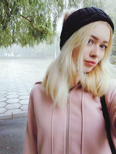 Good morning Blond Hair Young Women Portrait Beautiful Woman Water Beauty Lake Beautiful People Fashion Sky