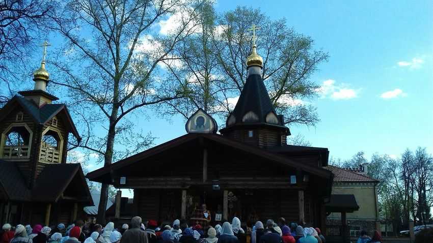Large Group Of People Architecture Religion Russian Church Russia Today Russia россия Russia Moscow Zhavoronki Churches Church Architecture Church Procession Real People Architecture