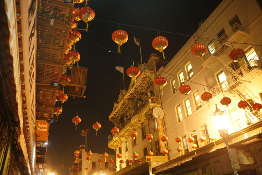 City Cityscape Lantern Lanterns Night Lights Nighttime SAN FRAN San Francisco San Francisco Night Architecture Asian Lantern City Scape Hanging Hanging Lantern Hanging Lanterns Illuminated Lanterns Above The Street Lanterns In A Night Sky Lanterns In The Dark Low Angle View Night No People Shopping District