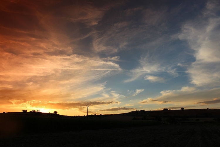 The Week On EyeEm Dramatic Sky Sunset Cloud - Sky Landscape Scenics Beauty In Nature Outdoors Day Tranquility Horizon Multi Colored Sitramadetera Zamora, Spain