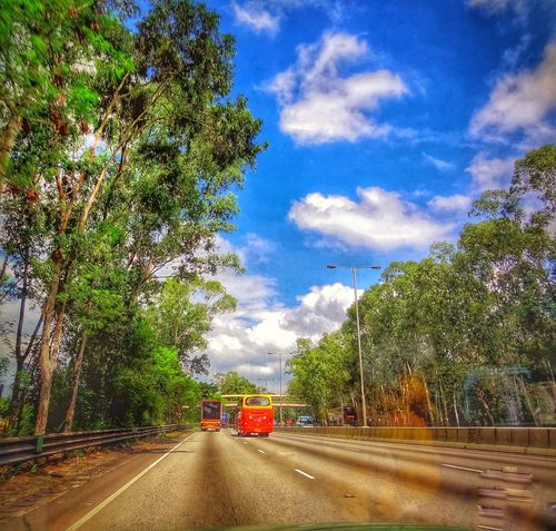 Beauty In Nature Cloud - Sky 🌈⭐🌠🌍🌞 On The Road Check This Out 😊 Selective Focus Feel Free