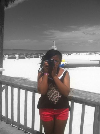 Yesterday When I Was At Clearwater Beach .