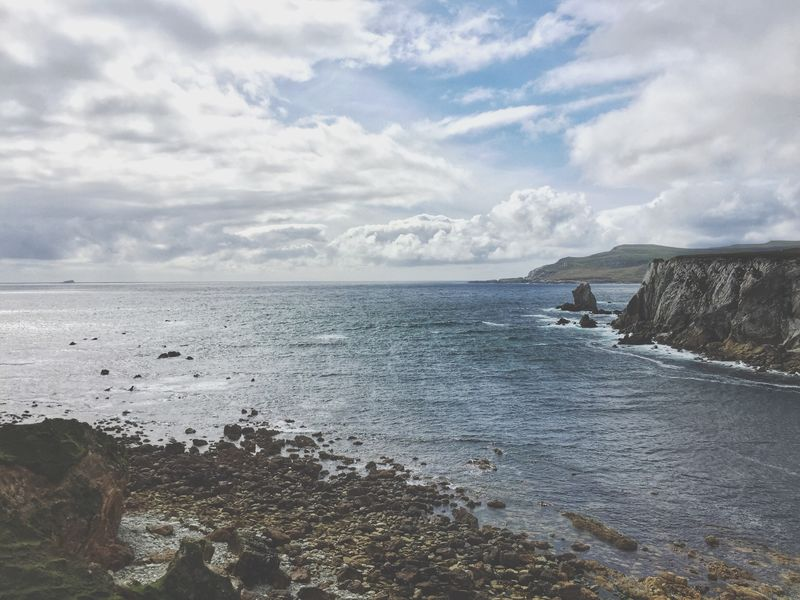 Landscape Ireland Wild Atlantic Way County Mayo Mayo Achill Island Achill 2016 No People Picturesque Scenics Magical Island Natural Light Natural Beauty Natural Nature Unspoilt Clouds And Sky Scenery Scenic Check This Out Taking Photos Enjoying Life