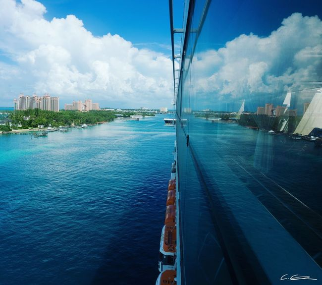Bahamas Cruise Celebrity Cruises Bahamas Cruise Built Structure Sky City Cityscape Cloud - Sky Water Sea Blue Nautical Vessel