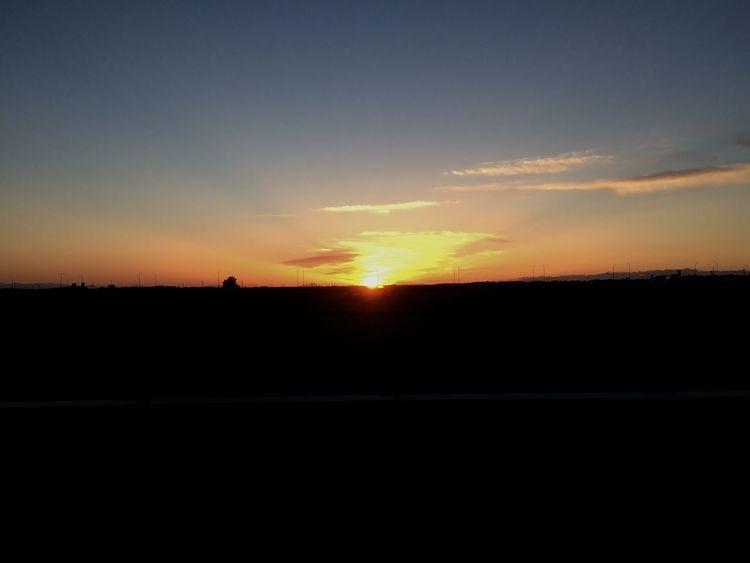撤収なう IPhoneography Sunsets Clouds And Sky