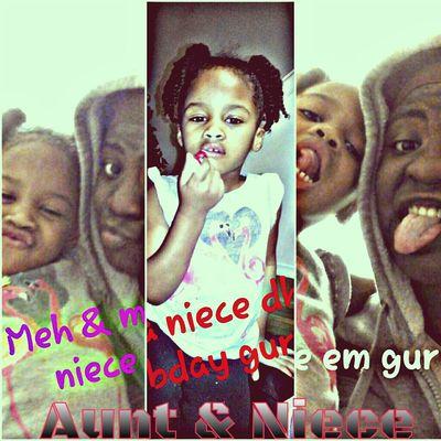 Tke 📷 wit aunt ! ☺😀