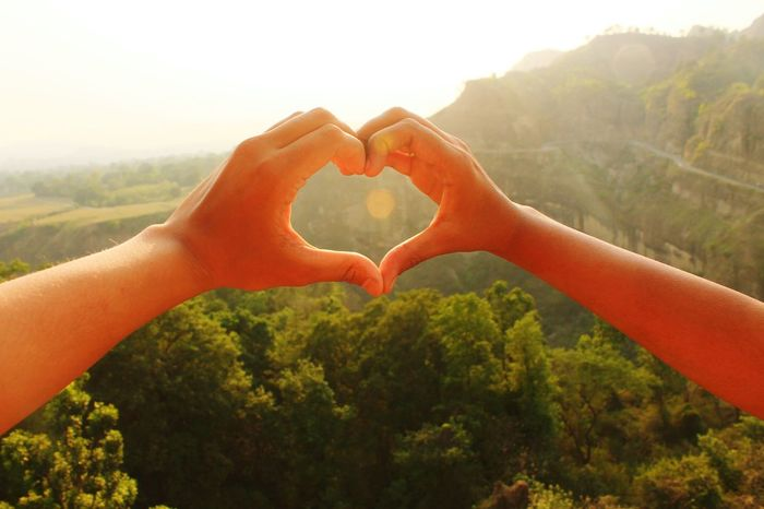 Human Hand Human Body Part Heart Shape Hand Love People Two People Togetherness Adult Sunset Eyesight Nature Plant Summer Adults Only Close-up Life Events Outdoors Men Happiness The Photojournalist - 2017 EyeEm Awards