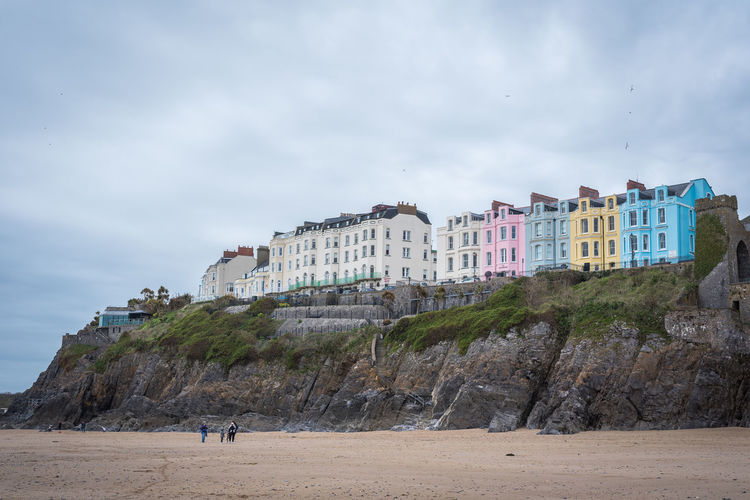 Color Houses Tenby Tenby Harbour Tenby Pembrokeshire Tenby Scene Tenby Weekend Getaway Tourist Attraction  Wales, UK Tenby Beach Tenby, Pembrokshire Tourism Tourist Destination Travel Destinations