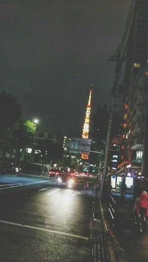 Tokyo Tower Tokyo 東京 麻布 City Illuminated Tree Cityscape Skyscraper City Life Urban Skyline Architecture Building Exterior