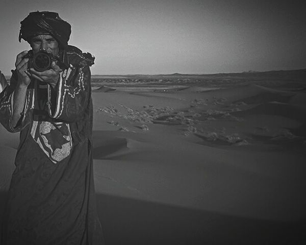 Learn & Shoot: Working To A Brief Blackandwhite Blackandwhite Photography in Dunes Of Merzouga Deserts Around The World - Morocco