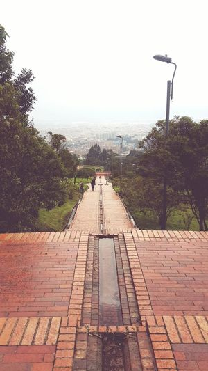 Urban Skyline Bogotá Colombia Park Tree Day Water Nature Outdoors Cloud - Sky No People Bogotá Paece Sky Mountains