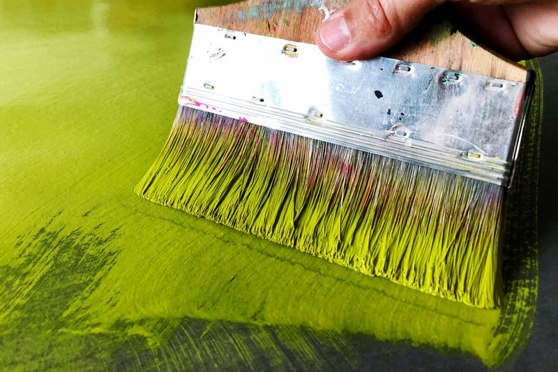 Artworks Painting Photooftheday Photography Picoftheday Photographer One Person Human Body Part Human Hand Hand Holding Body Part Occupation Agriculture Working Green Color Close-up Multi Colored
