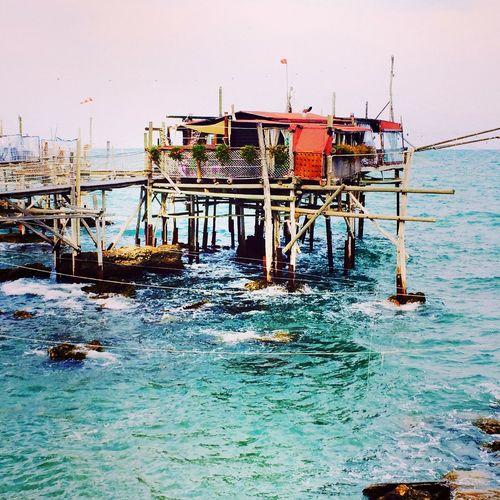 Italy Landscape WOW Trabocchi Spectacular Sea History Amazing