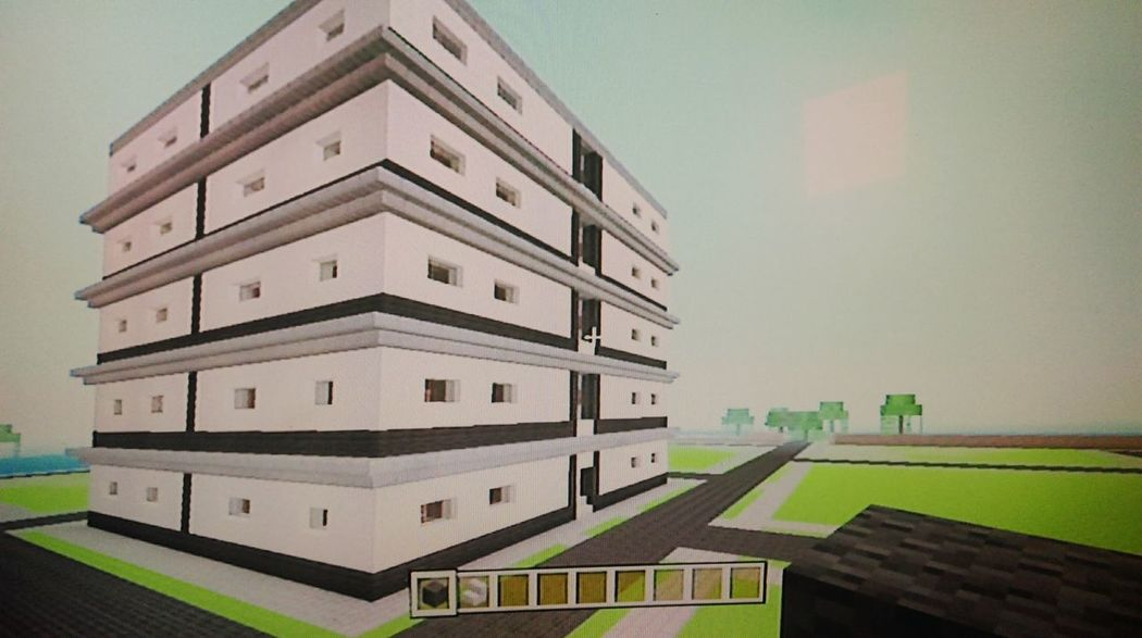 Block of flats, am spending too much time on this haha Minecraft , Gaming Time Gamer