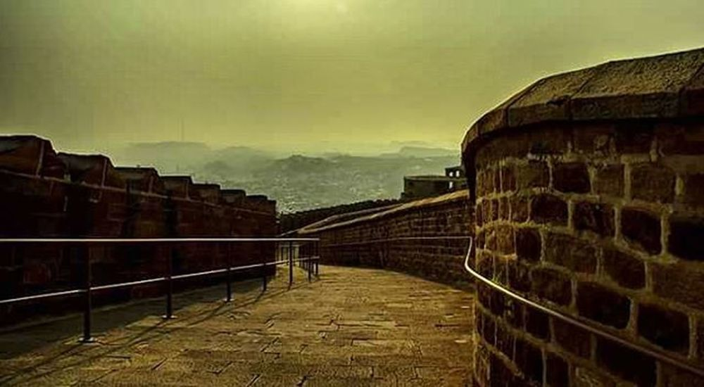 This is that descend, which comes before every ascend. Mehrangarh Fort Marwar Oldkingdom Royal Notchinawall Jodhour Descend Theview Canon Sunset