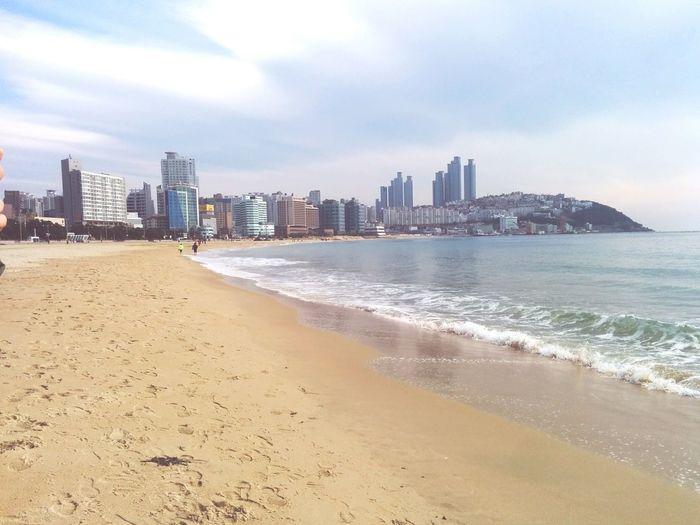해운대 Busan Taking Photos Landscape Beach Holiday