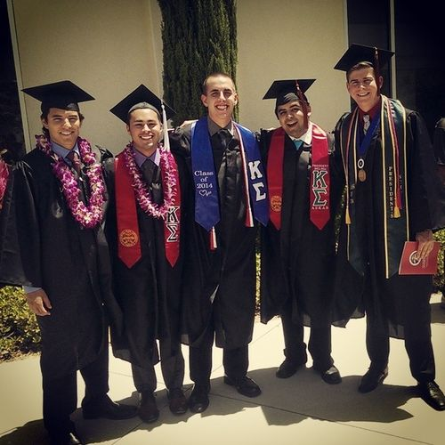 TBT  to when I graduated. Kappasig Brotherhood