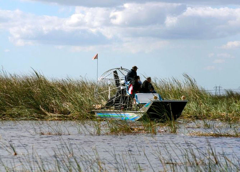 Lost In The Landscape Beauty In Nature Cloud - Sky Day Grass Growth Men Nature One Person Outdoors People Sky Water First Eyeem Photo Everglades  Everglades National Park Airboat Rides On The Swamps Airboat