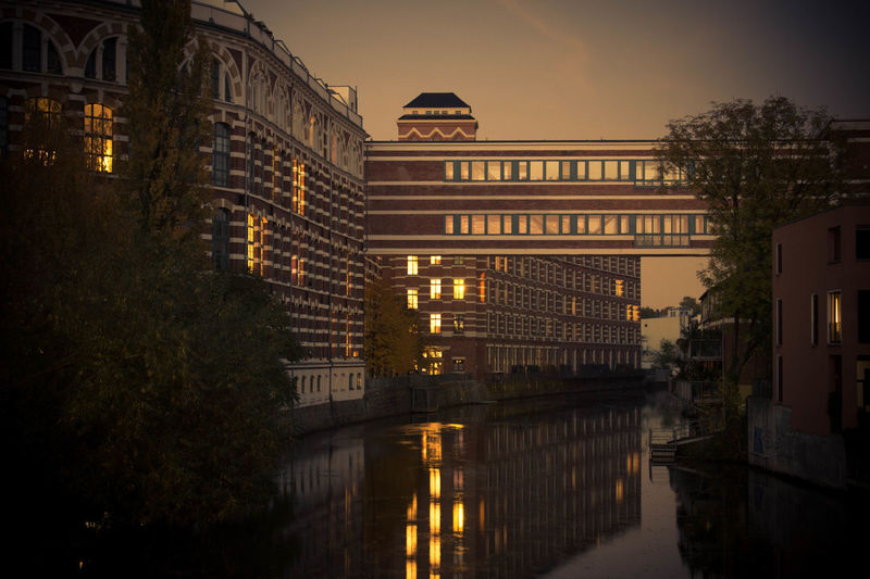 Ehemalige Buntgarnwerke Architecture Leipzig Office Building