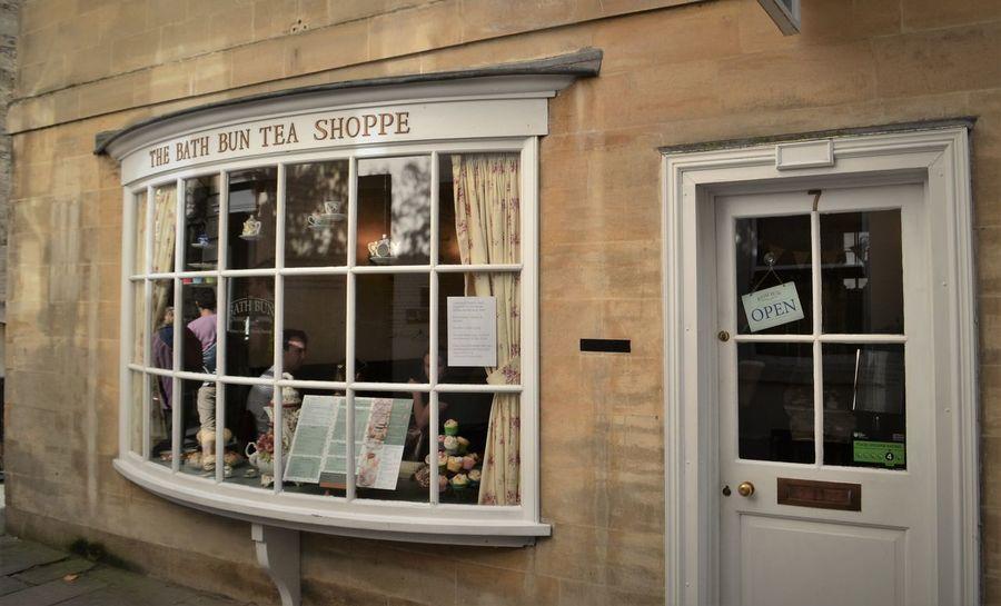 Bath Bath Bun Somerset England Door England Regency Regency Architecture Tea Shop Victorian Style Windows