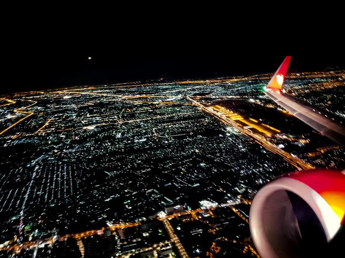 Night Night Lights Ground Internationalairport Airplane Airport Light Travel Intheairplane Airplane Flying Aerospace Industry Air Vehicle Commercial Airplane Aerial View Illuminated Sky Aircraft Wing Airport Runway Airplane Wing Airways Fighter Plane